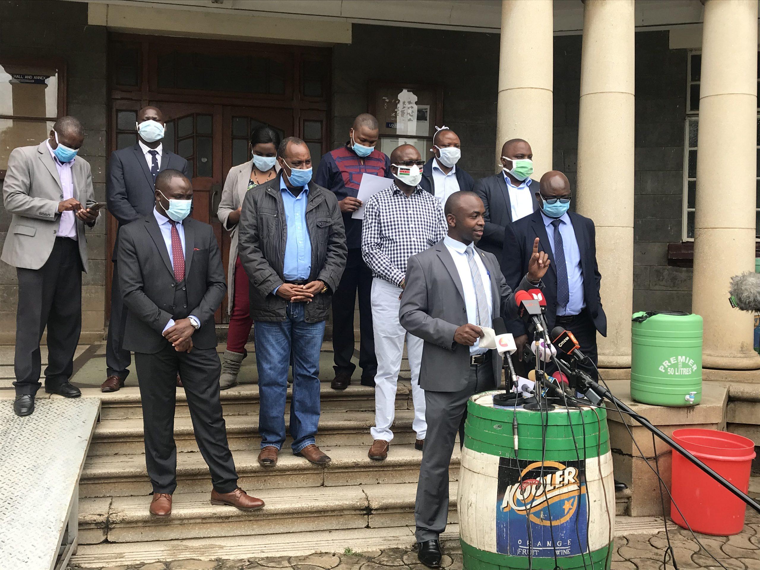 Kenyan health professionals threaten strike amid COVID-19