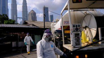 Virus outbreak in Malaysia