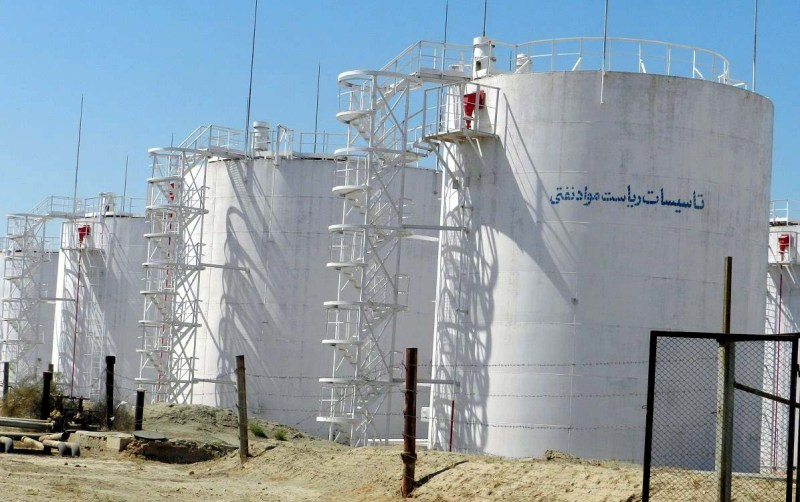 Crude oil reservoirs Balkh