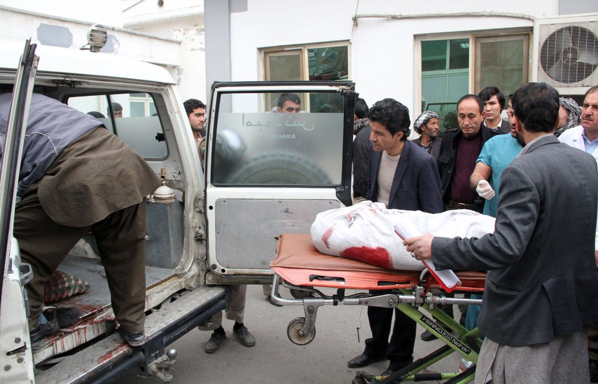 Nearly 200 killed and injured in Afghanistan's deadliest day of 2020
