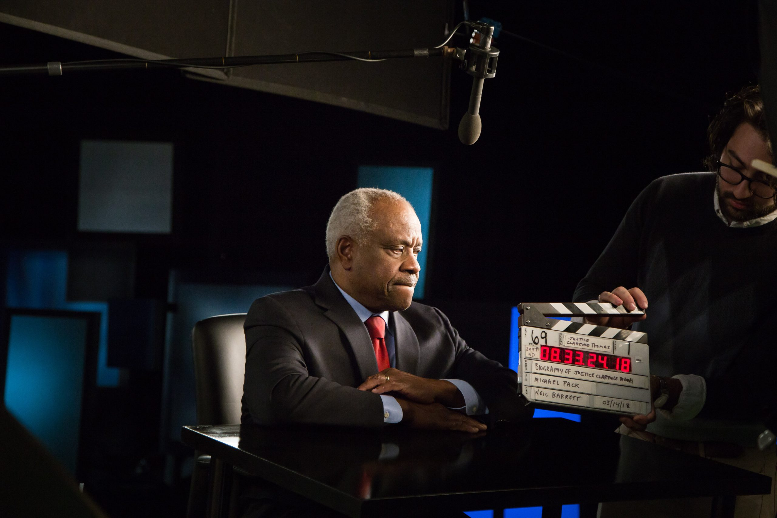 For the first time, Clarence Thomas tells his story on television