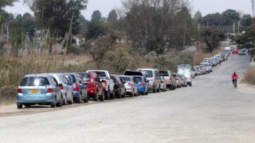 Zimbabwe Gas Line