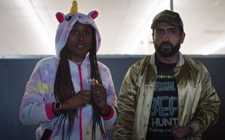 Issa Rae (Leilani) and Kumail Nanjiani (Jibran) star as a couple whose honeymoon period ended a long time ago.