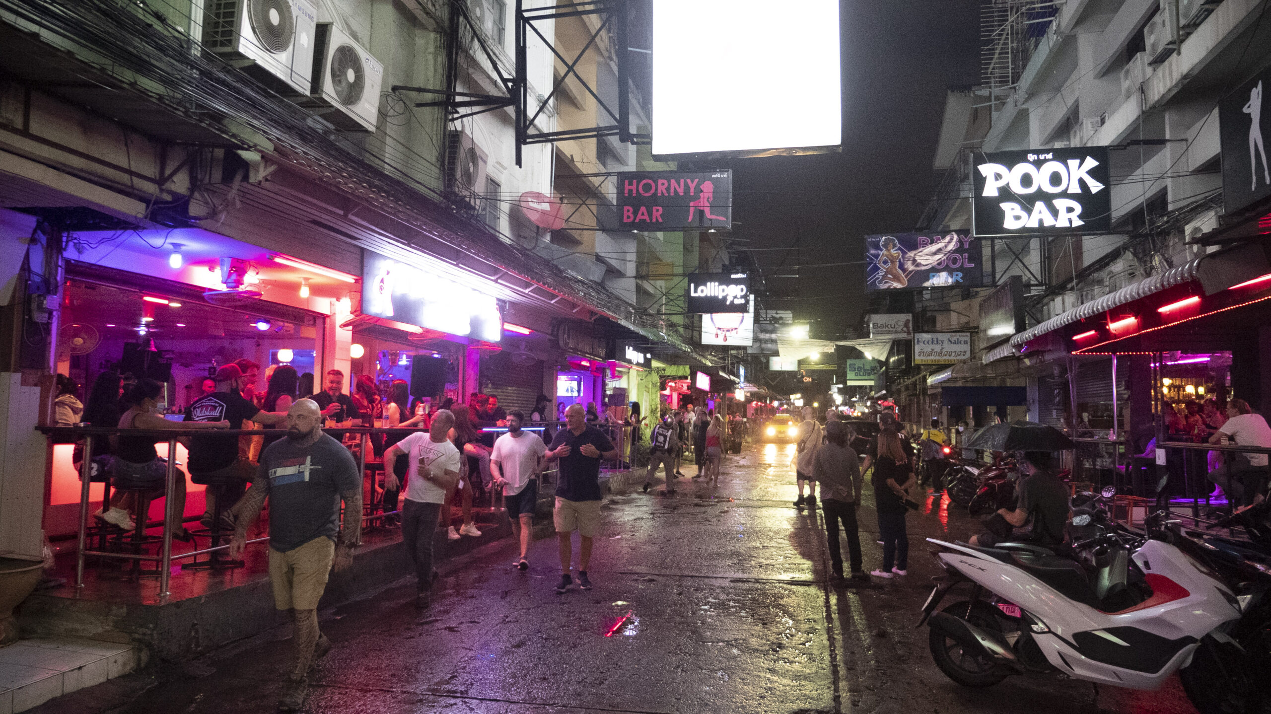 THE WAY WE LIVE NOW: Safer Sex as Bangkok Red Light District Reopens After Lockdown