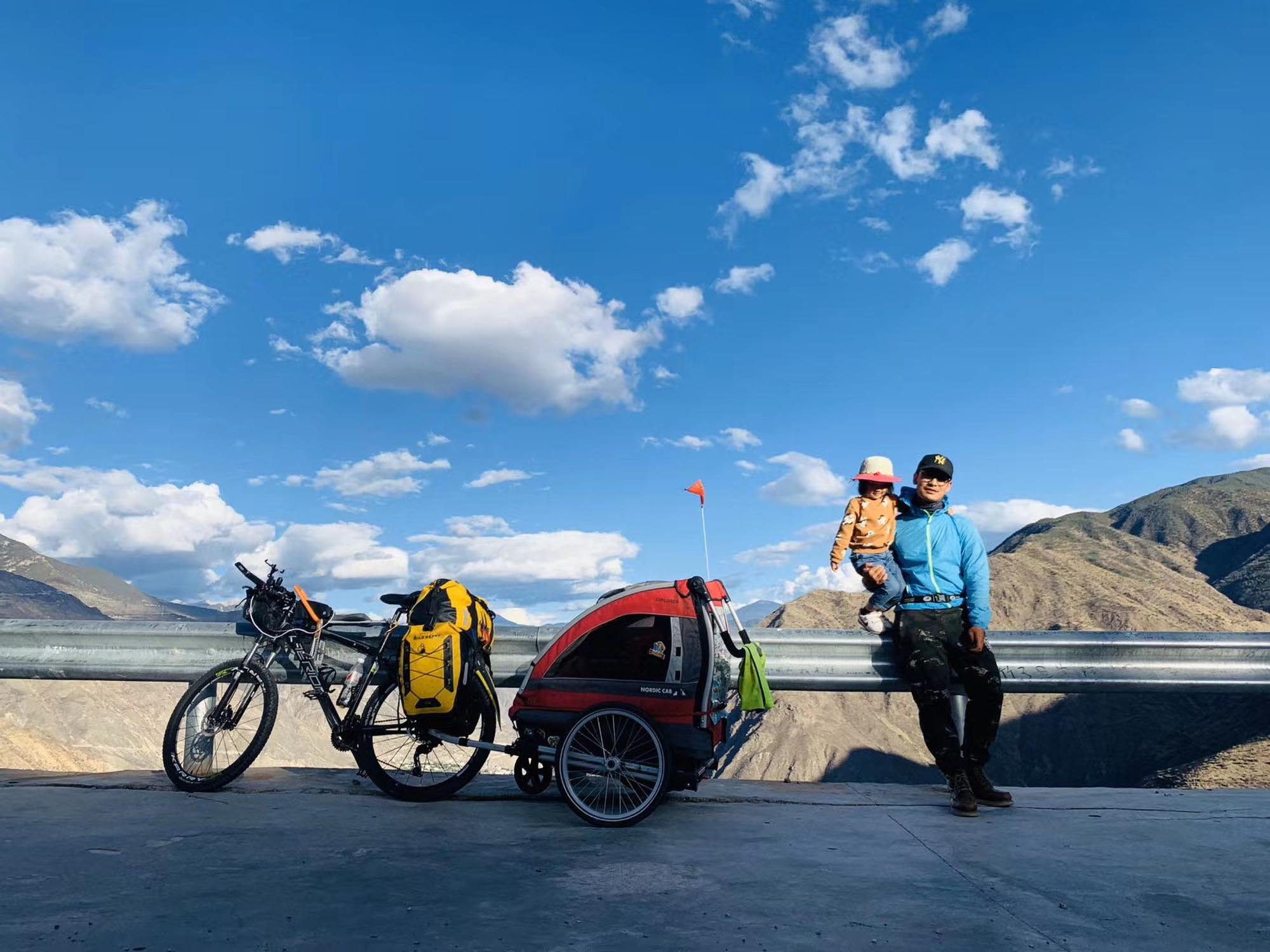 From staying at home to cycling to Tibet