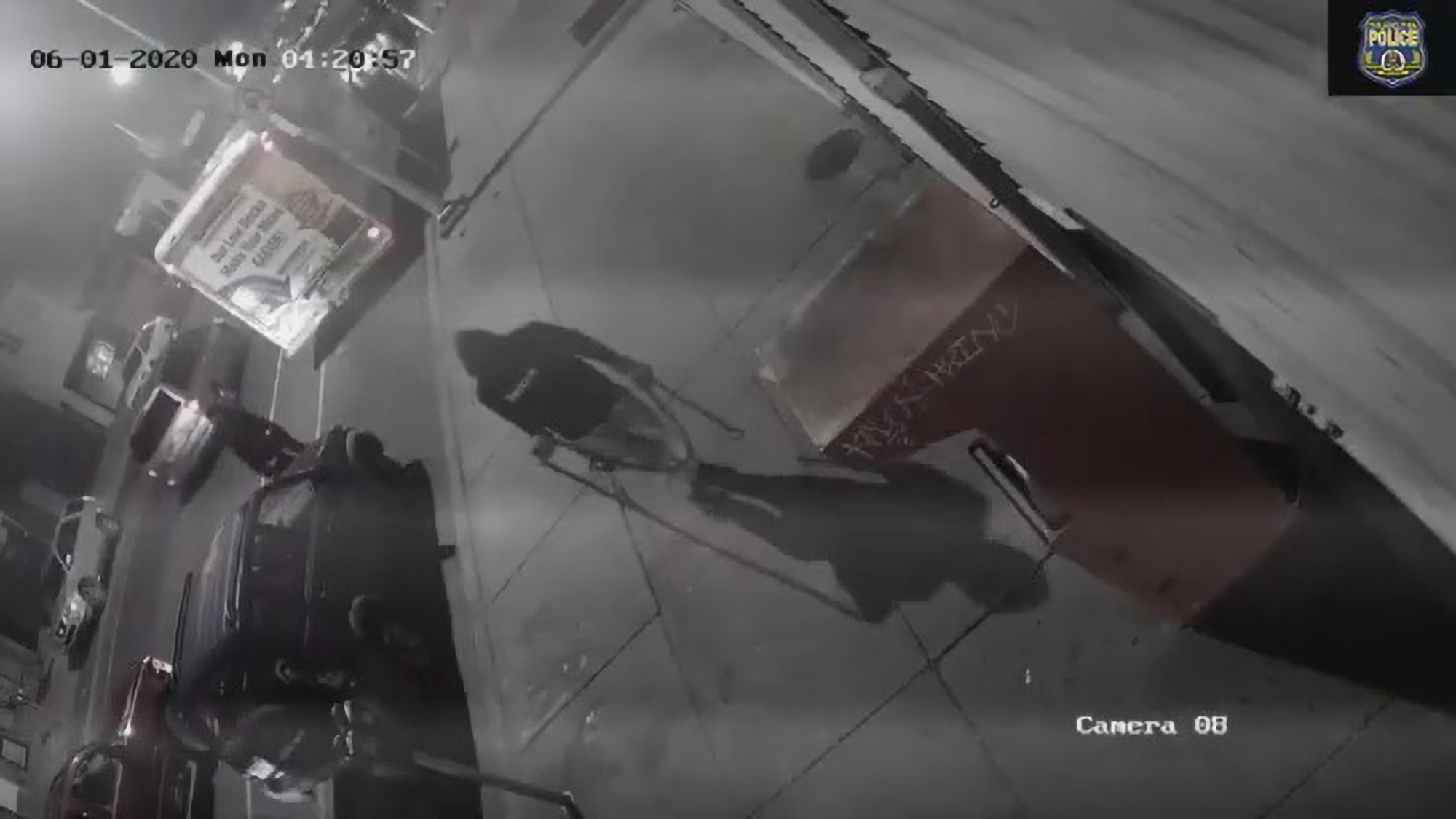 Hooded thieves pull off ATM heist from busy Philadelphia street