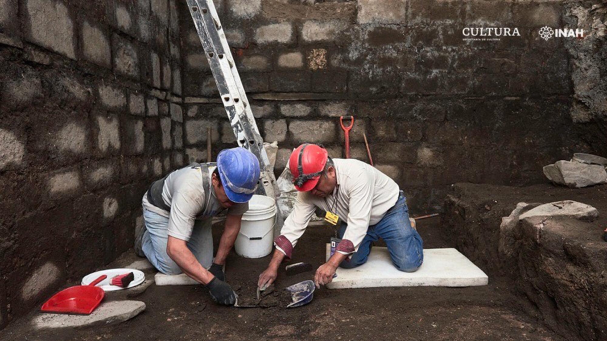 Antiguo Palacio Azteca Desenterrado en la Ciudad de México