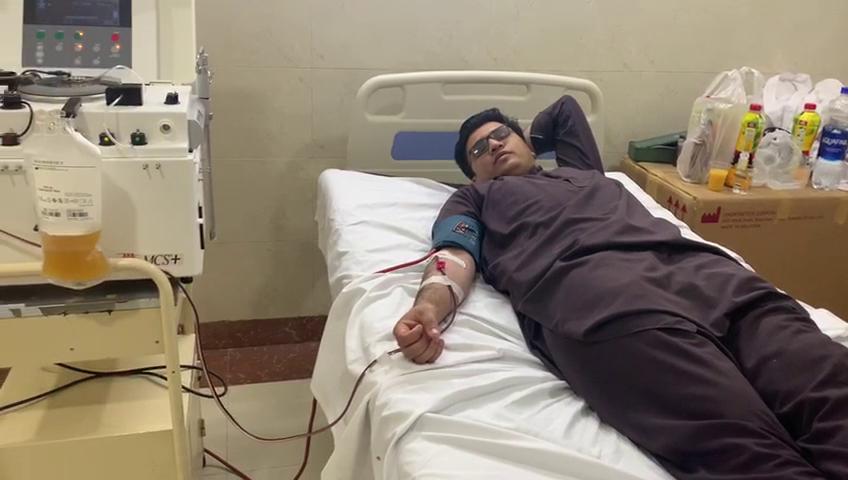 Aizaz Shamshad - Plasma Donor