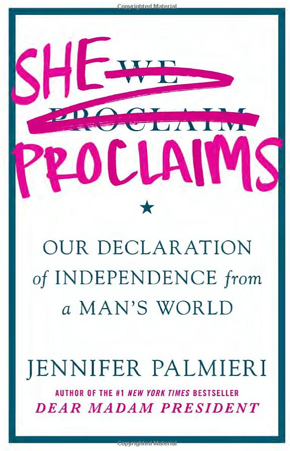 Zenger book review: 'She Proclaims: Our Declaration of Independence from a Man's World'
