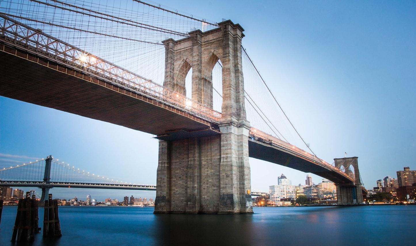 Alexander Rotker Unsplash - BK Brooklyn bridge