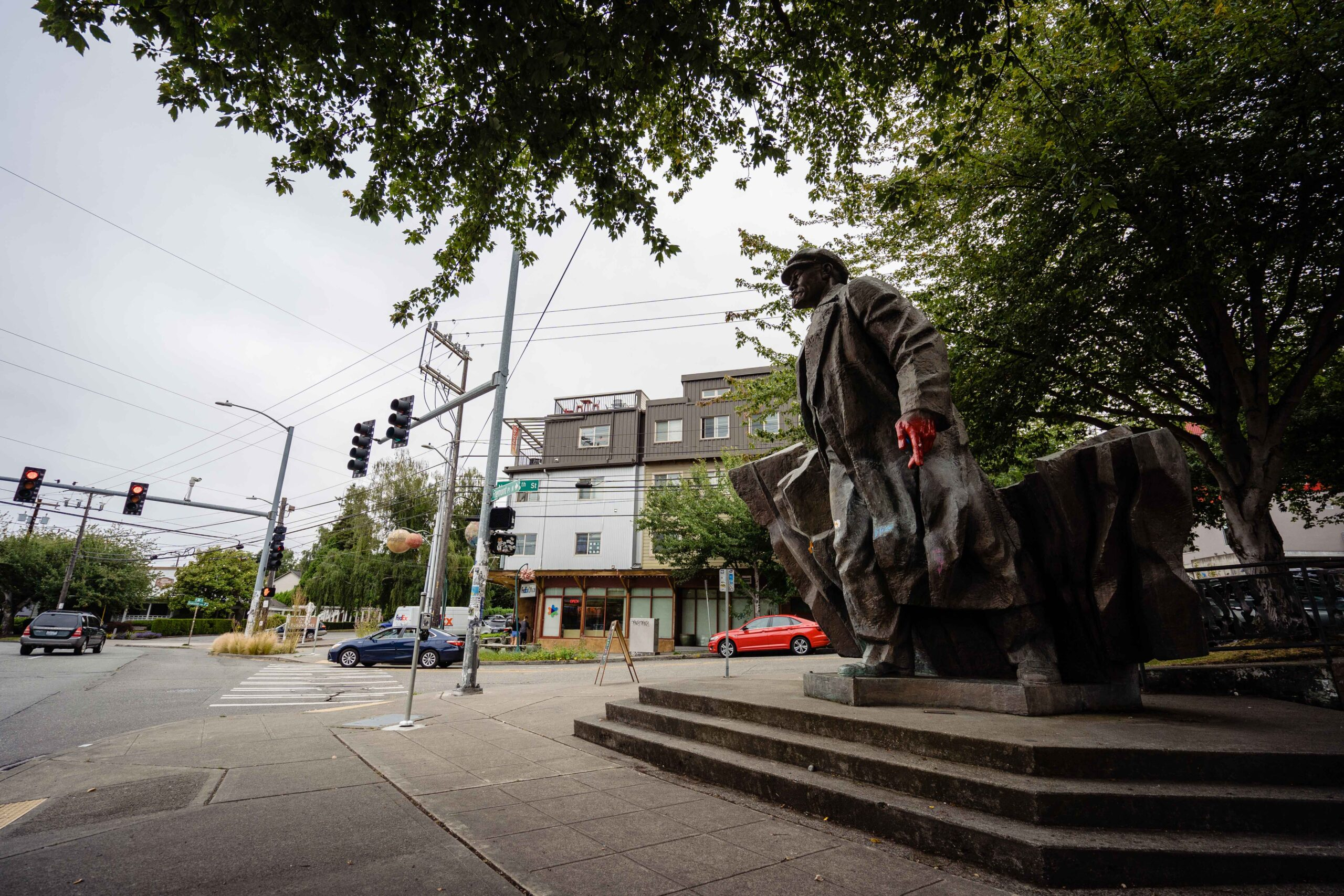 The one statue in Seattle that is not at risk