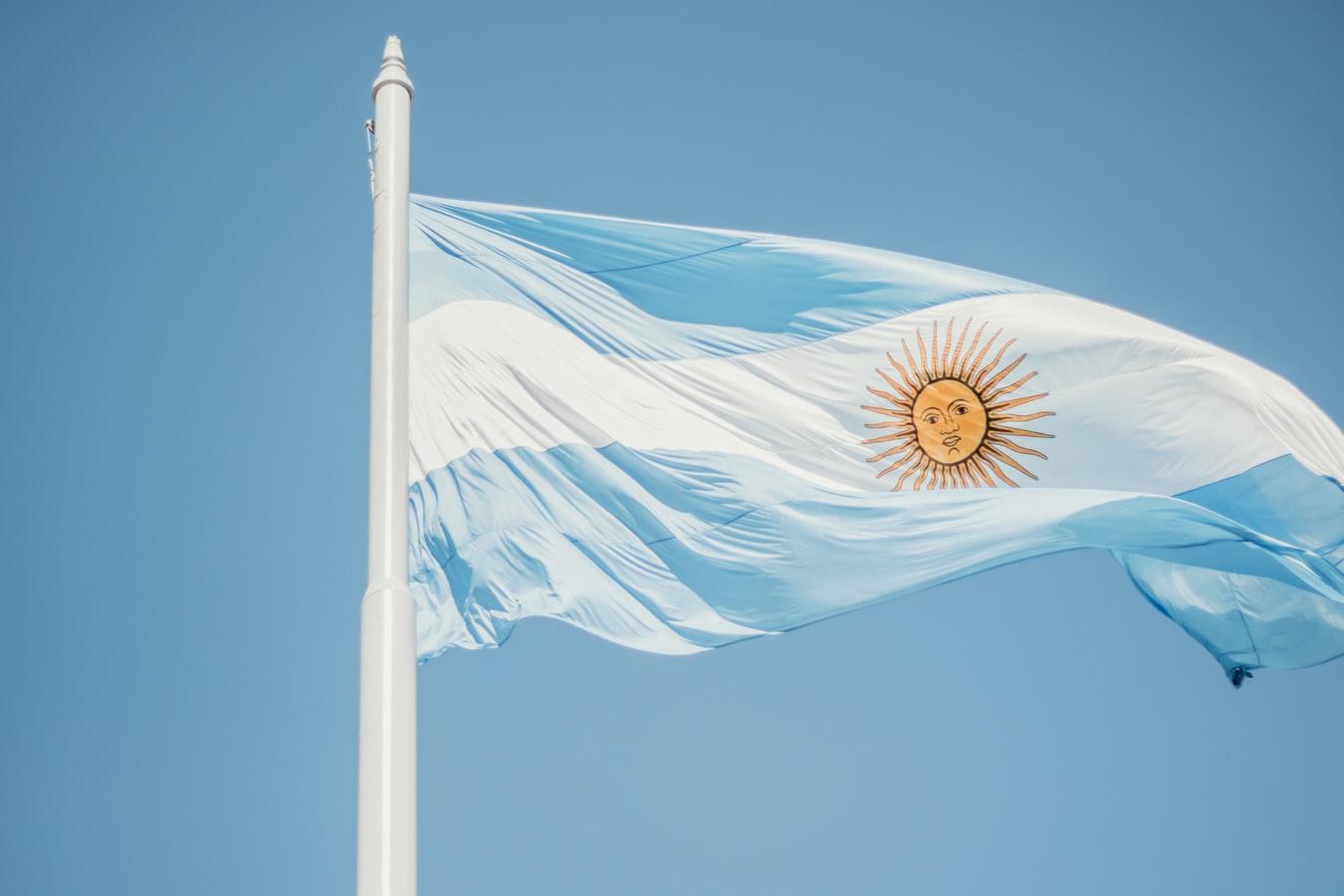 Argentina Flag Angelica Reyes