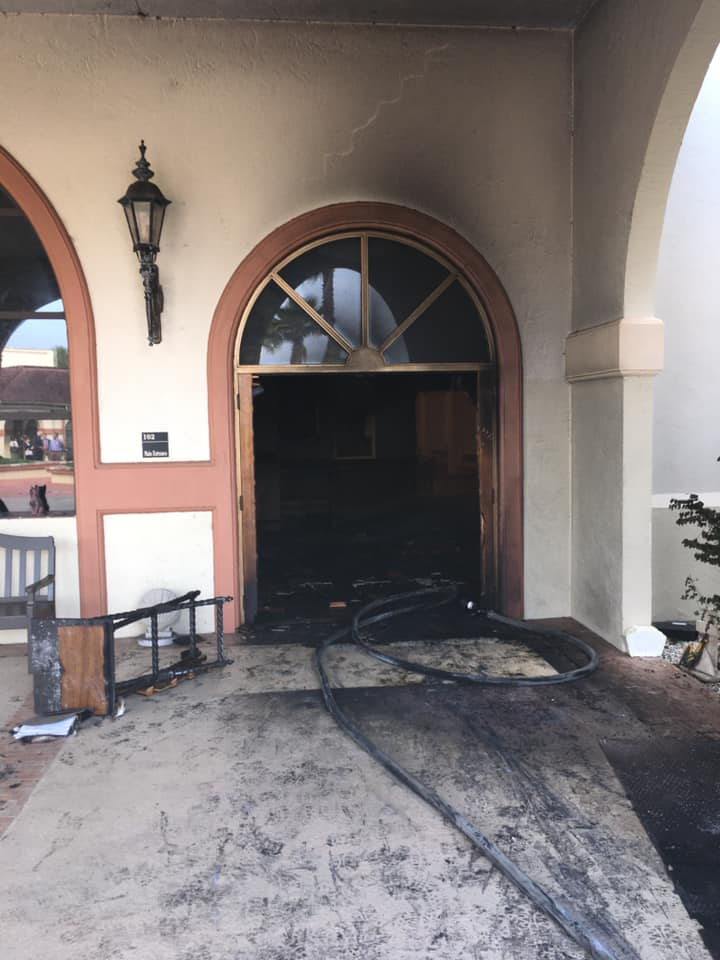 Churches vandalized across the US