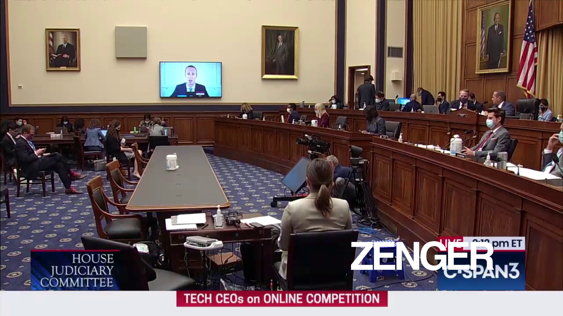 Congress grills tech execs on private messages
