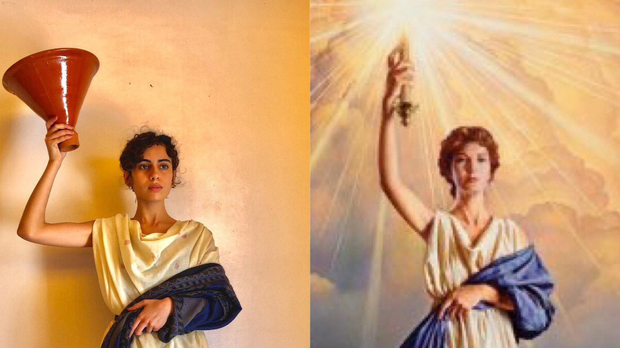 Moroccan Artist Recreates Famed Works With a Twist