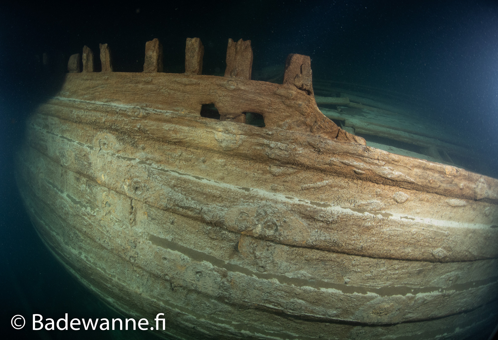 Well-Preserved Wreck of 17th Century Ship Discovered