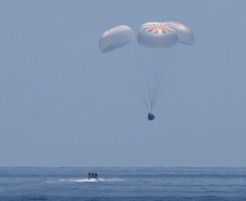 Test your news knowledge with Zenger: A SpaceX splashdown