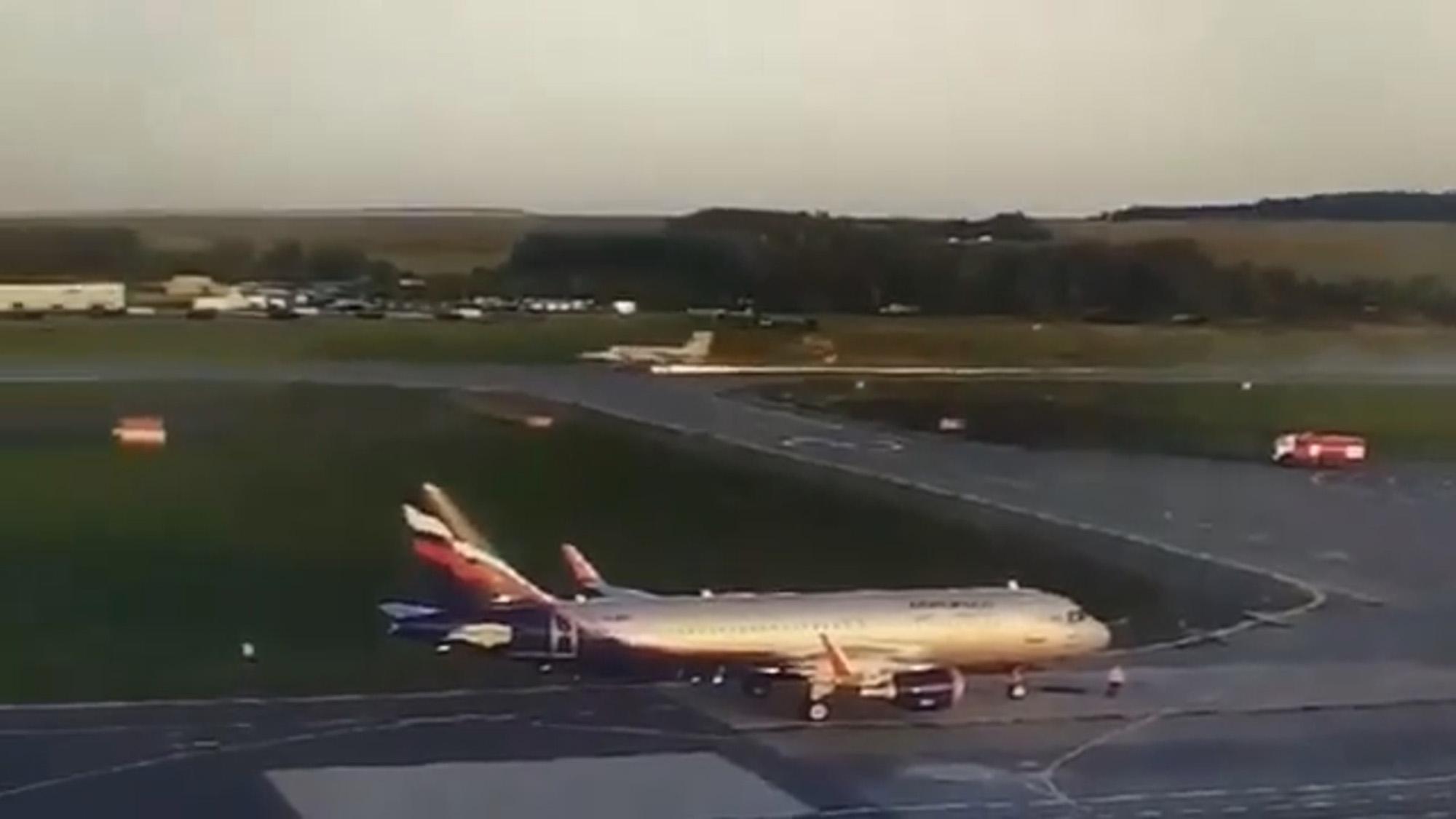 VIDEO: Wheel Lucky: Russian Fighter Jet Belly Flops on Tarmac after Landing Gear Drama