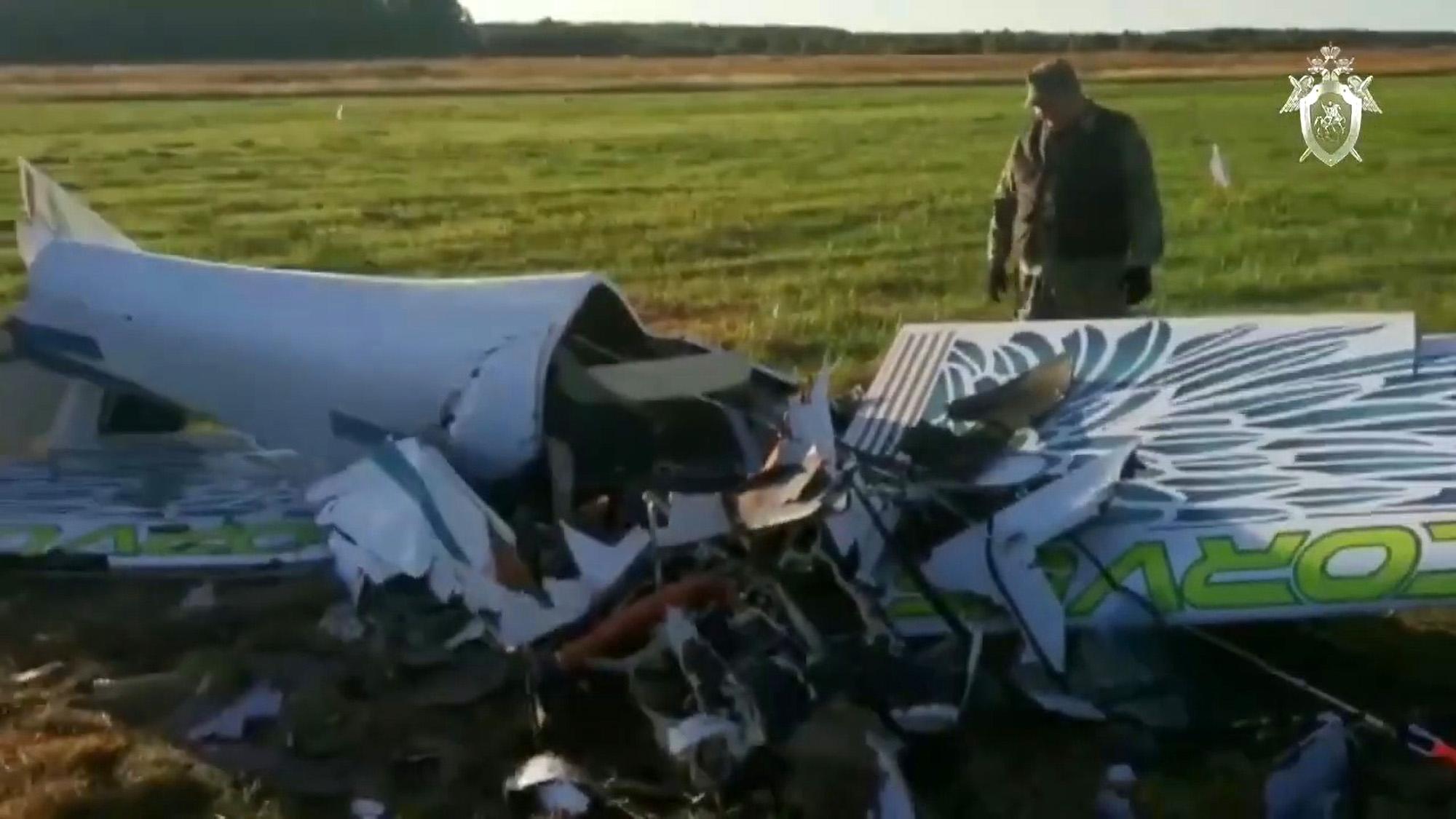 The Fright Stuff:  Pilot Dies in Stunt to Show Off Plane's Aerobatics