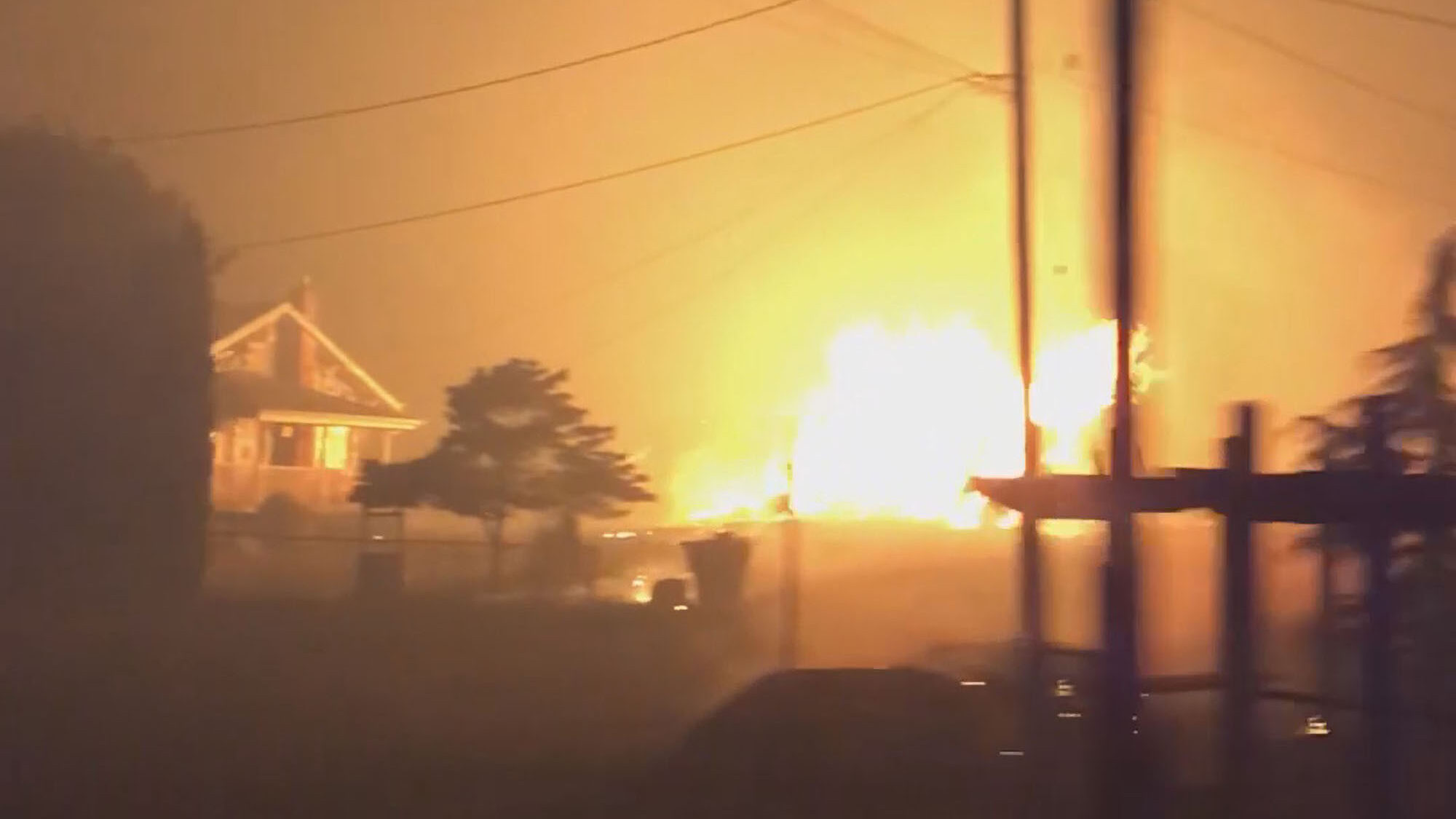 VIDEO: Wildfire Destroys Oregon Homes in Apocalyptic Blaze