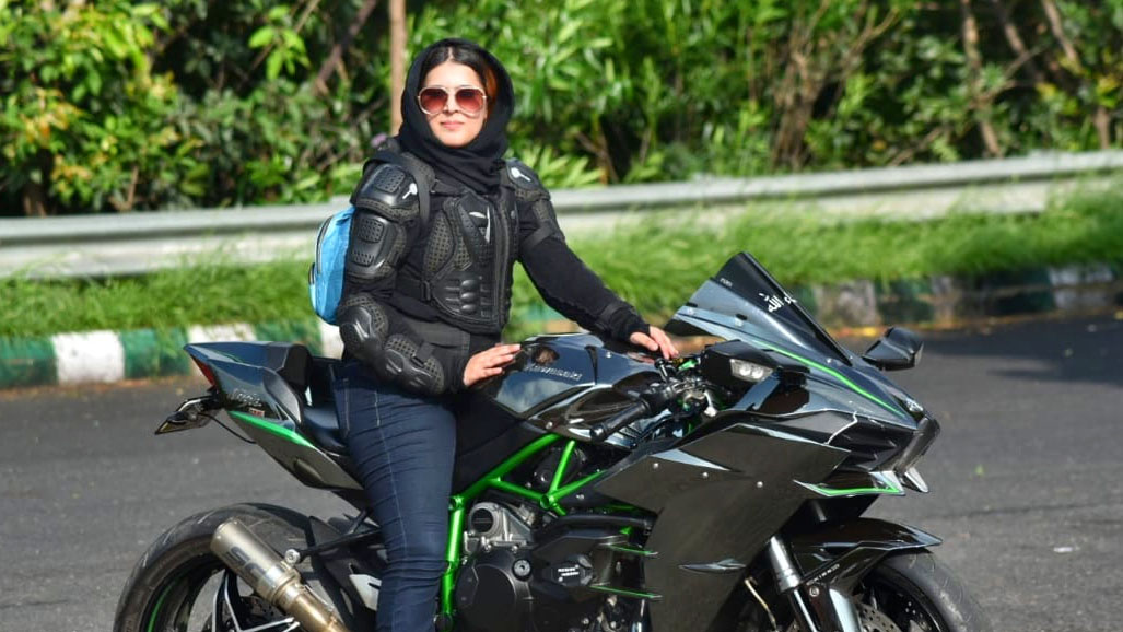 Delhi's 'Hijabi Biker' Breaks India's Stereotypes with Her Mean Machine