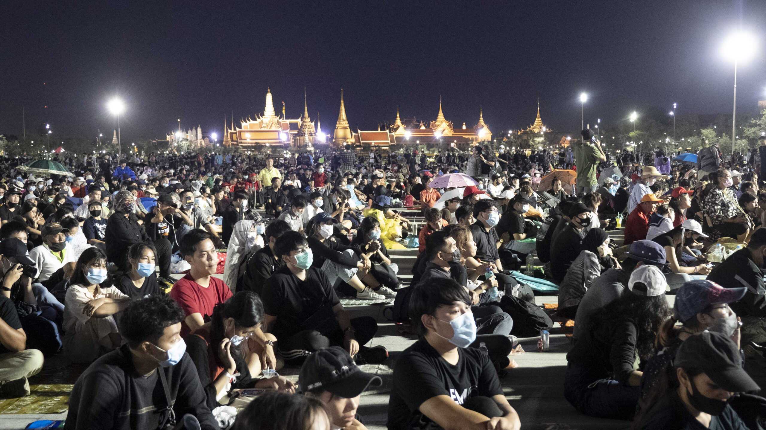 Marching Against Monarchy in Bangkok as Thais Call for New Constitution