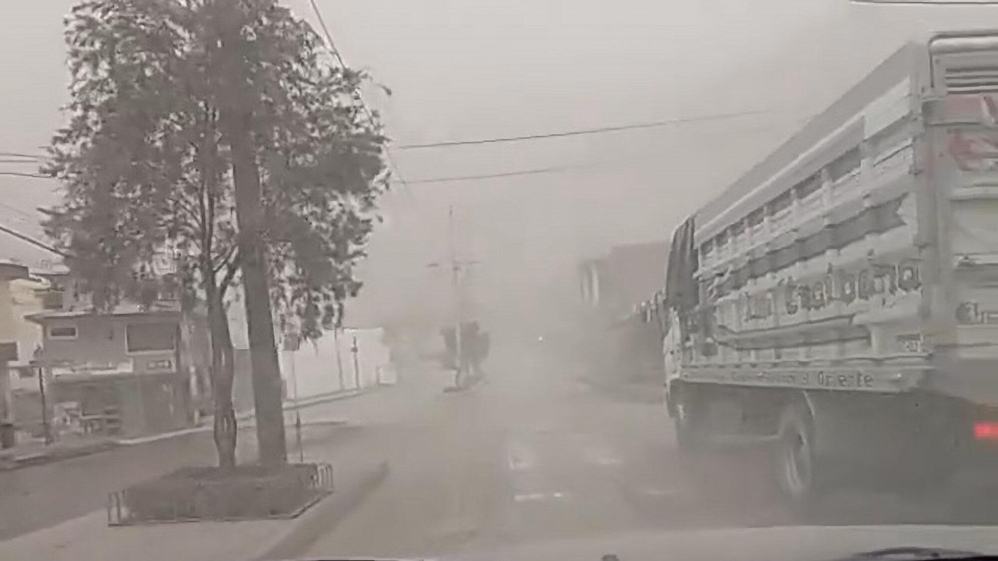 VIDEO: Ash Falls In Ecuador After Volcano Eruption