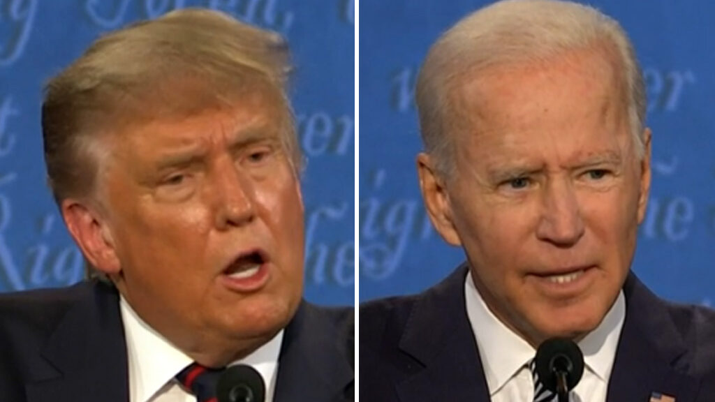 Jabs Fly in First Debate as Trump and Biden Hurl Insults