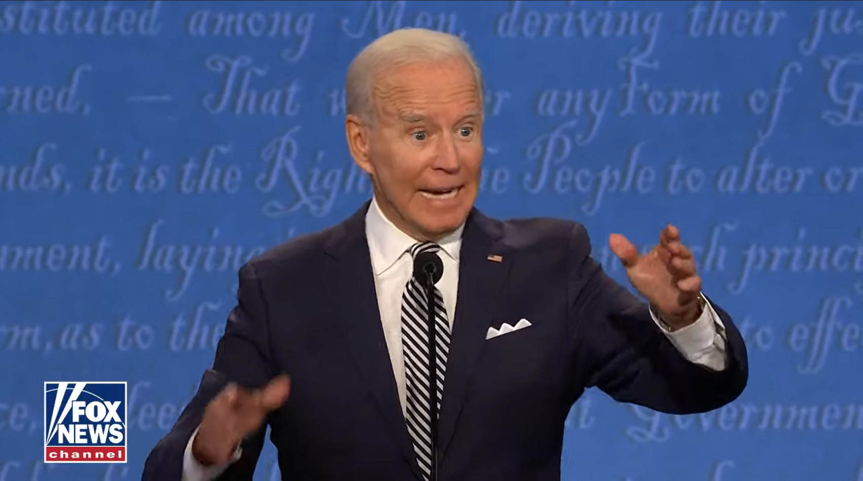 Fireworks on Debate Night as Biden Blasts