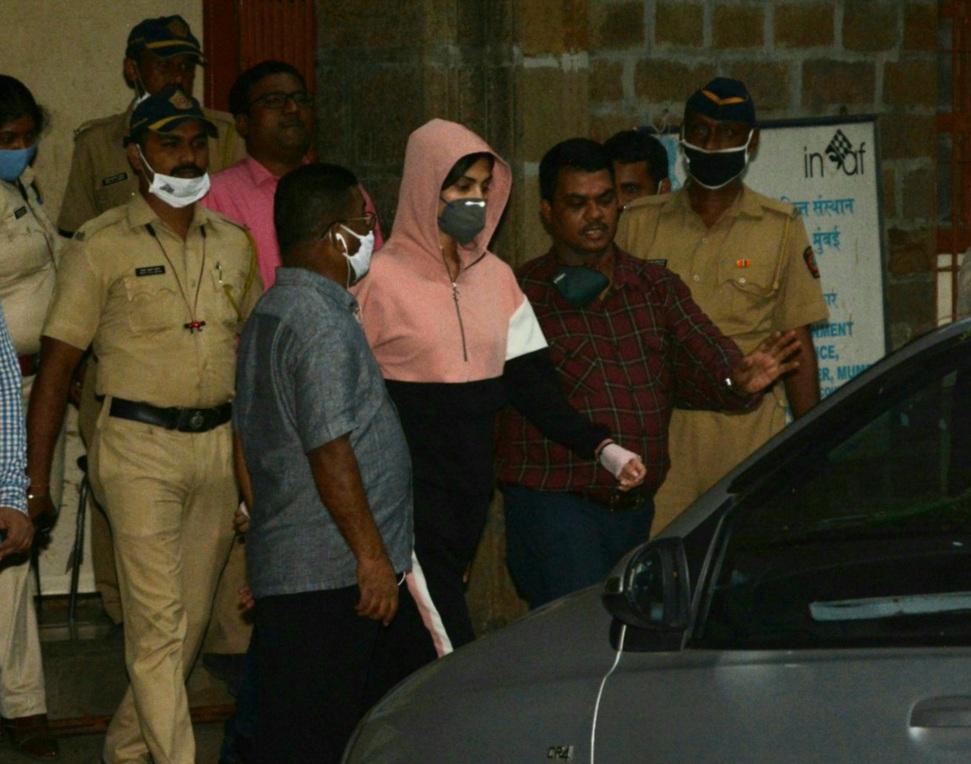 Bollywood actor Rhea Chakraborty Gets Bail in Drug Case