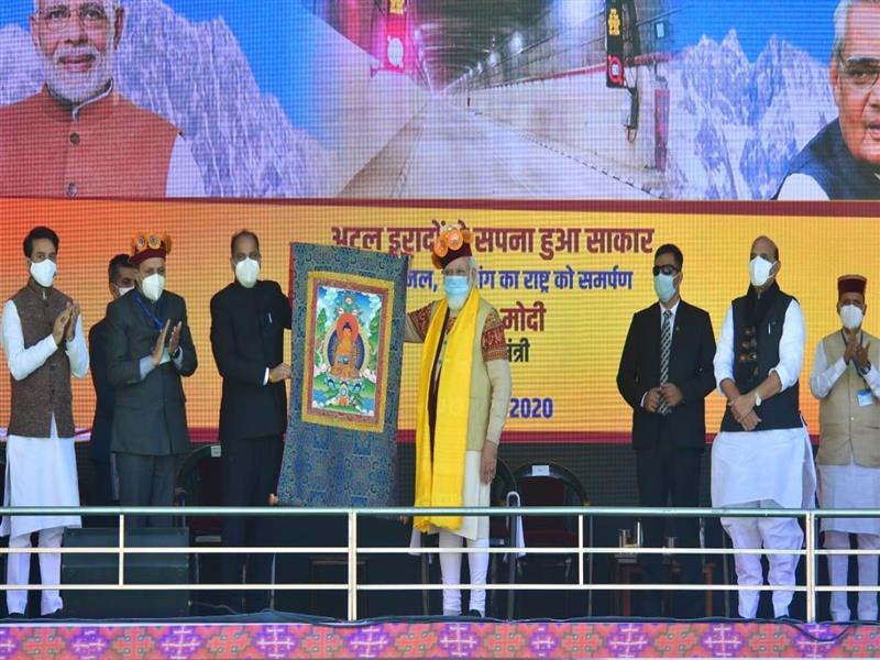 Modi's Tunnel Inauguration Turns into Covid Nightmare