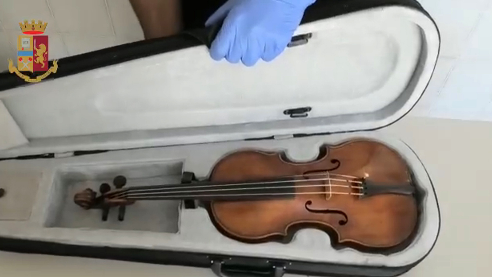 Valuable Violin Found Under Drug Dealer
