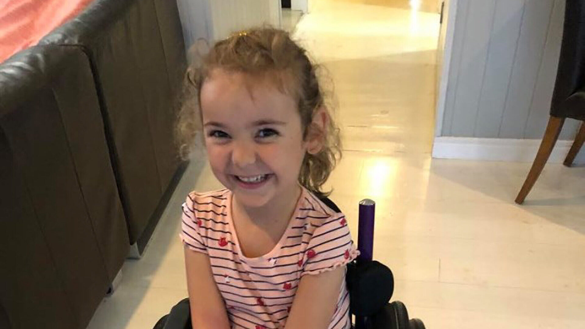 Ivy, 5, has SMA Type 3 (Real Press)