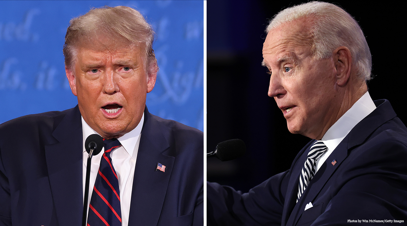 Biden-Trump Faceoff, October 22, 2020