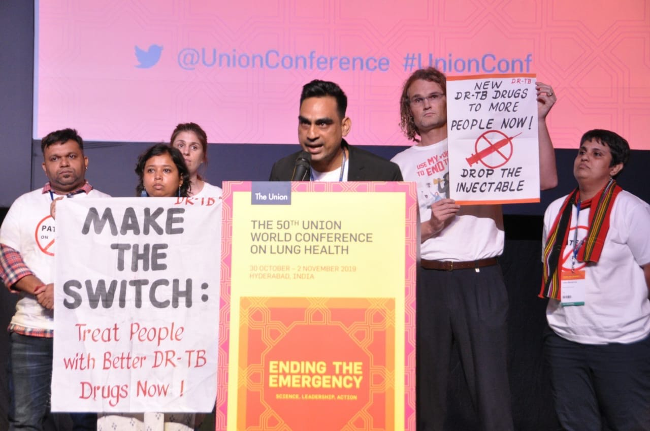TB Survivors, Activists from India Raise Concerns at World Forum