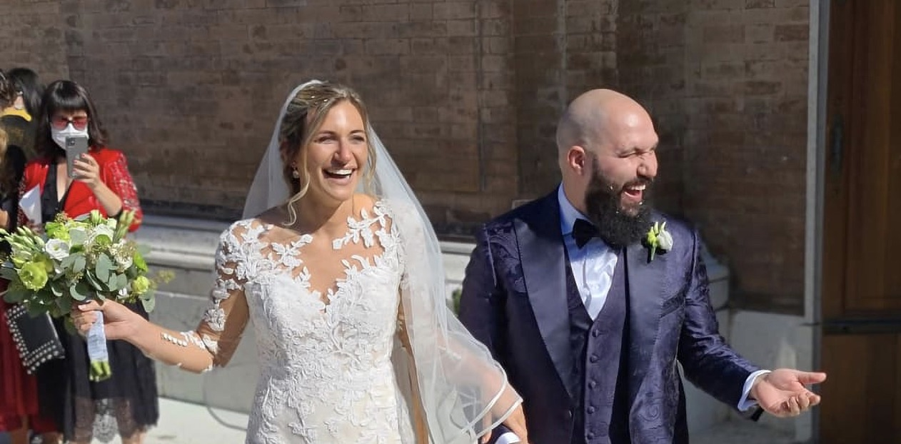 Italian Couple Marries 3 Times to Conform to Covid Rules