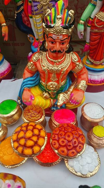 Kolu Dolls Brighten Navaratri Festivities in South India