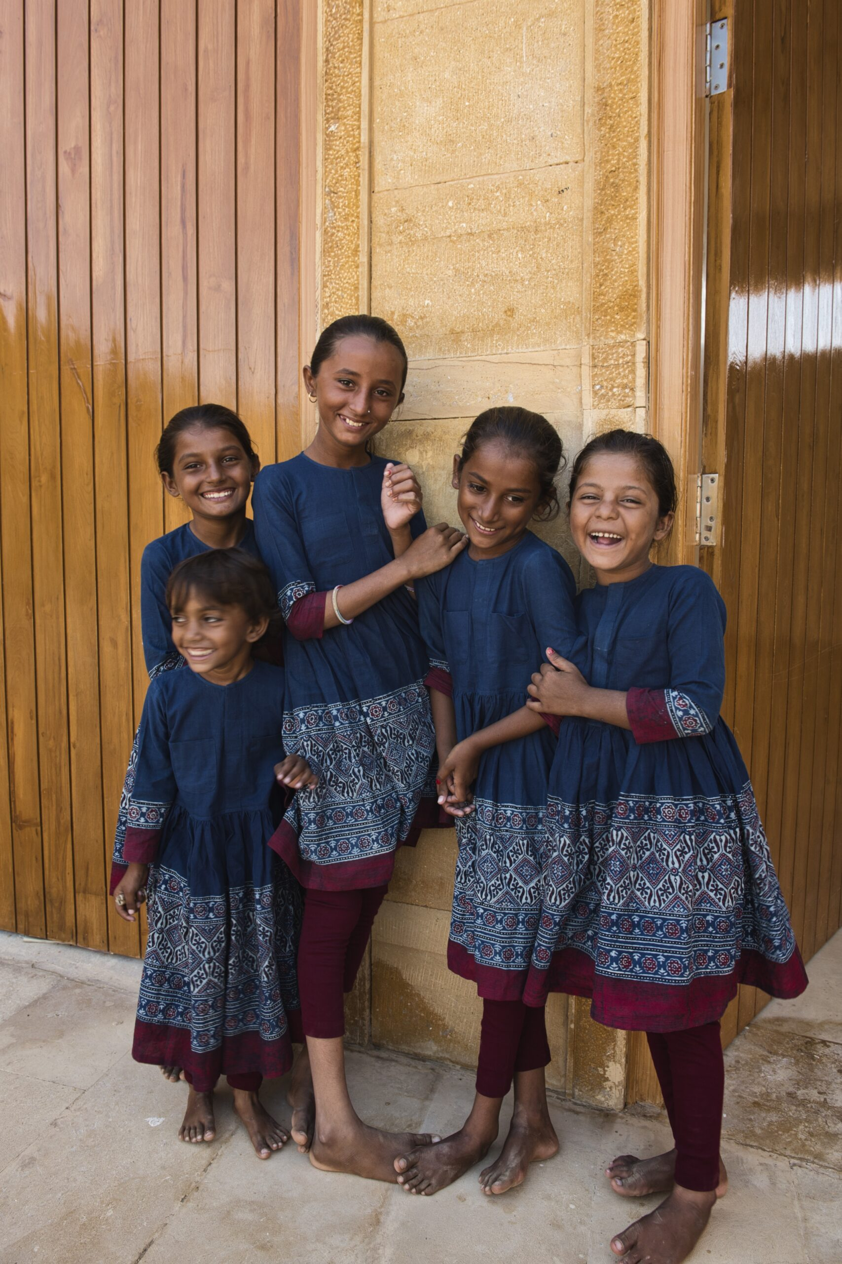 Jaisalmer Schoolkids Get Uniforms Designed by Sabyasachi