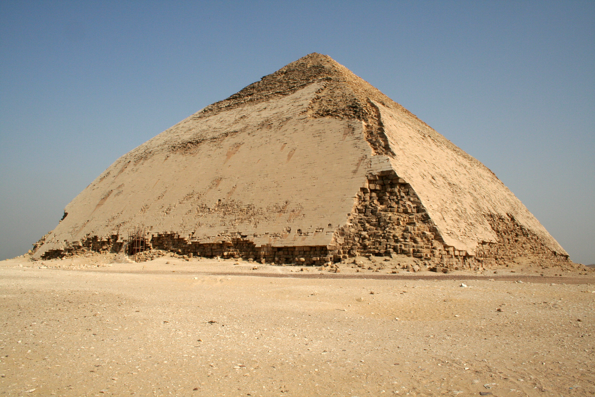 Anchoring Egypt's 4,600-Year-Old Bent Pyramid