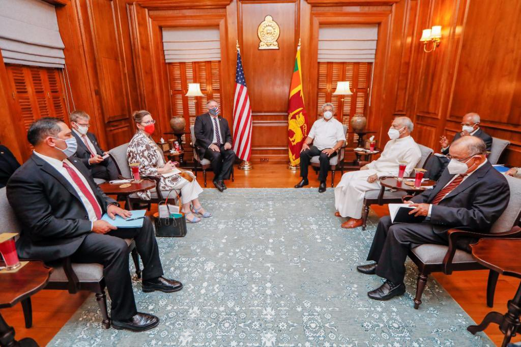 US Offers Sri Lanka a Different Vision, Accuses China of Being a Predator