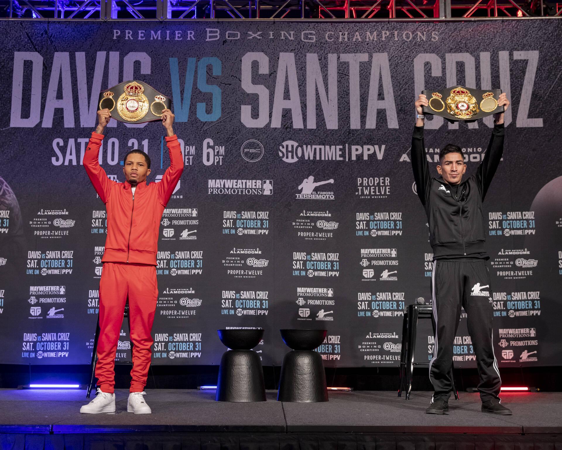 Halloween Fight Night: Gervonta 'Tank' Davis Battles Leo Santa Cruz in Texas
