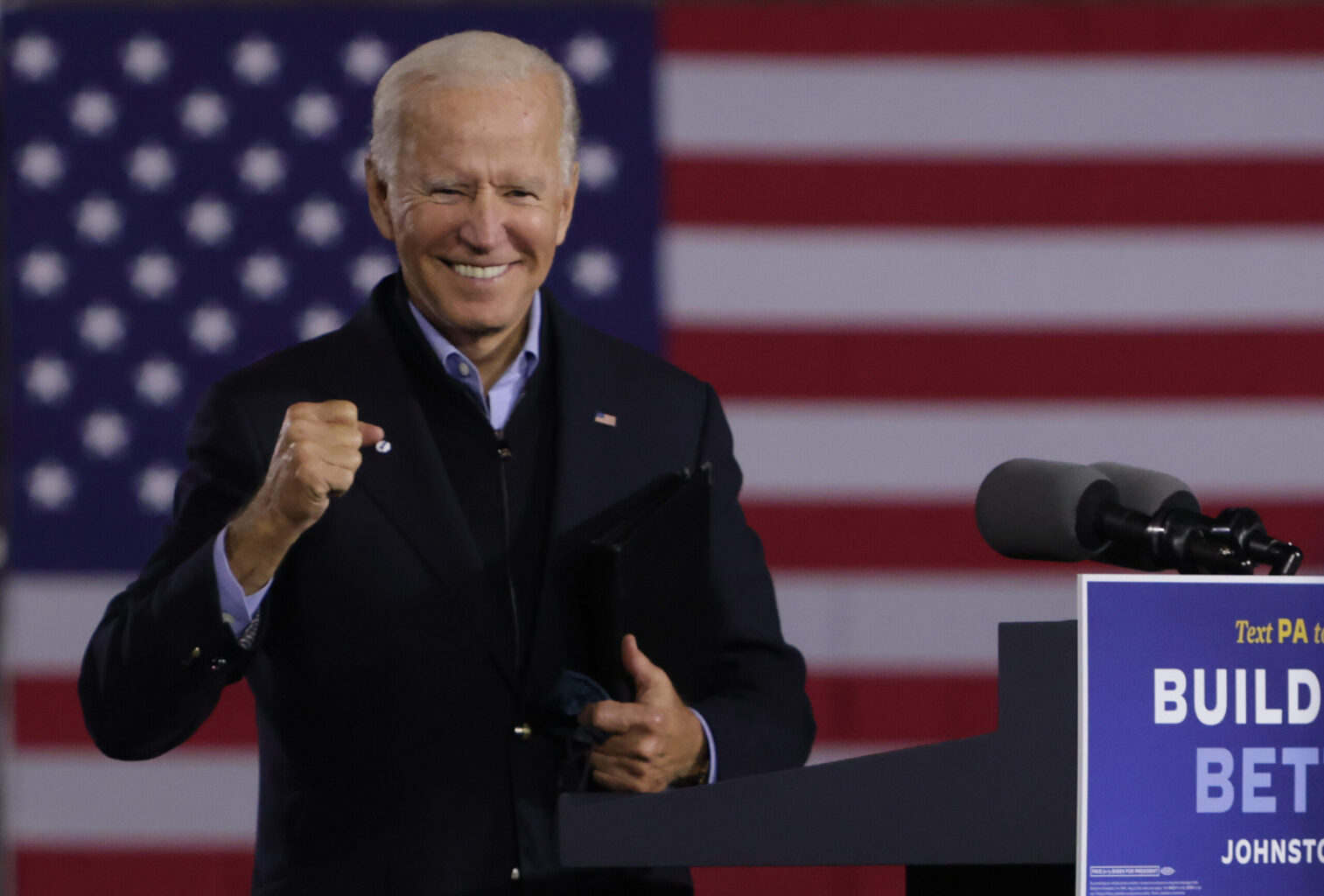 Biden Raised Three Times Trump's Fundraising Haul in the First Two Weeks of October