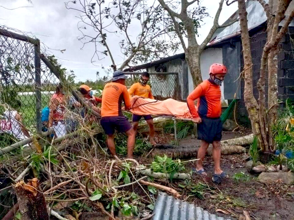 Eye of the Storm: Killer Typhoon In Philippines Devastates Country
