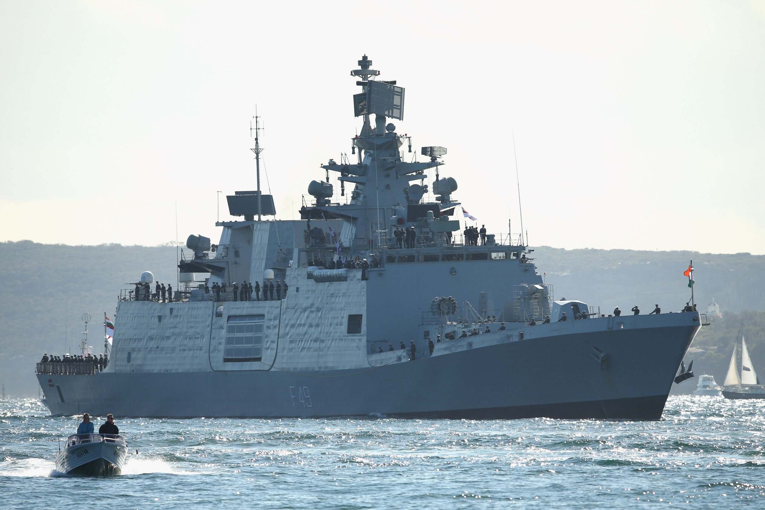 India, US, Japan, Australia Naval War Games Counter China in Indo-Pacific Region