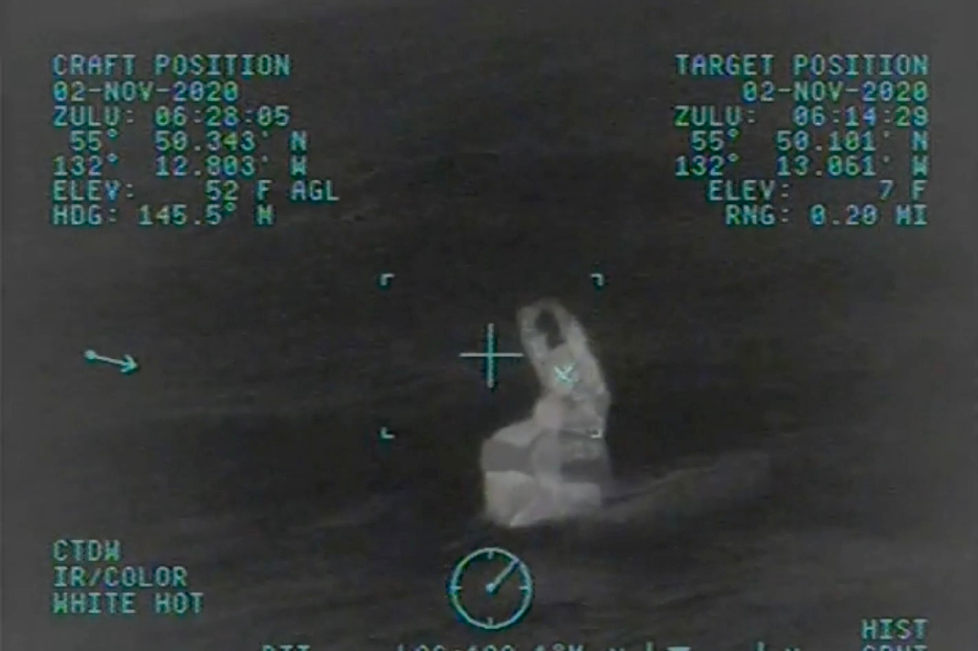 Coast Guard Rescues Man From Alaskan Bay