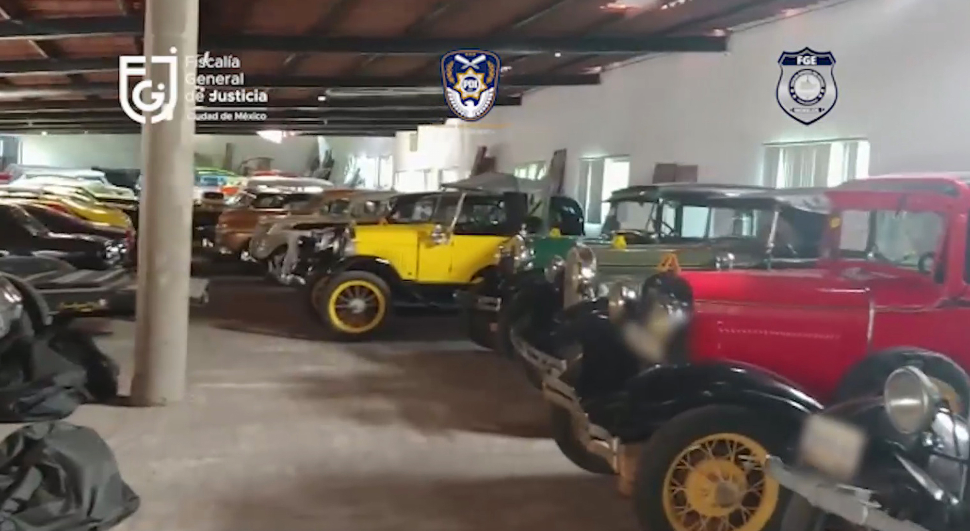 Classic Car Stash Seized In Raid