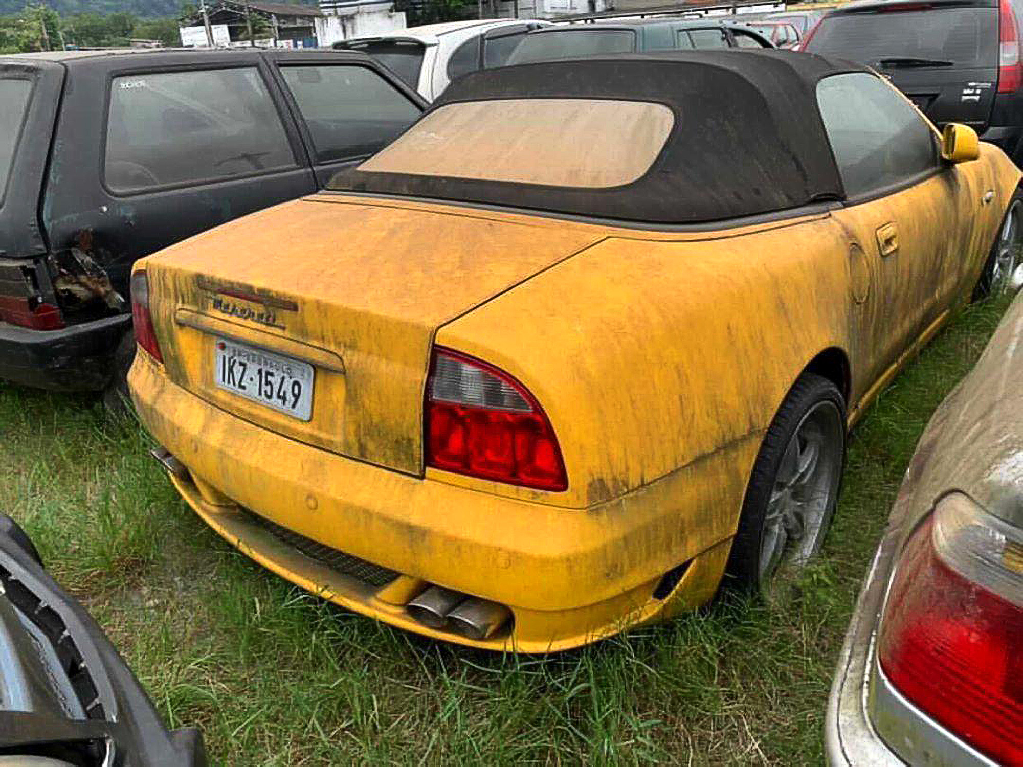 There Auto-be-a-Law: Rare Maserati Left to Rot in Brazilian Lot