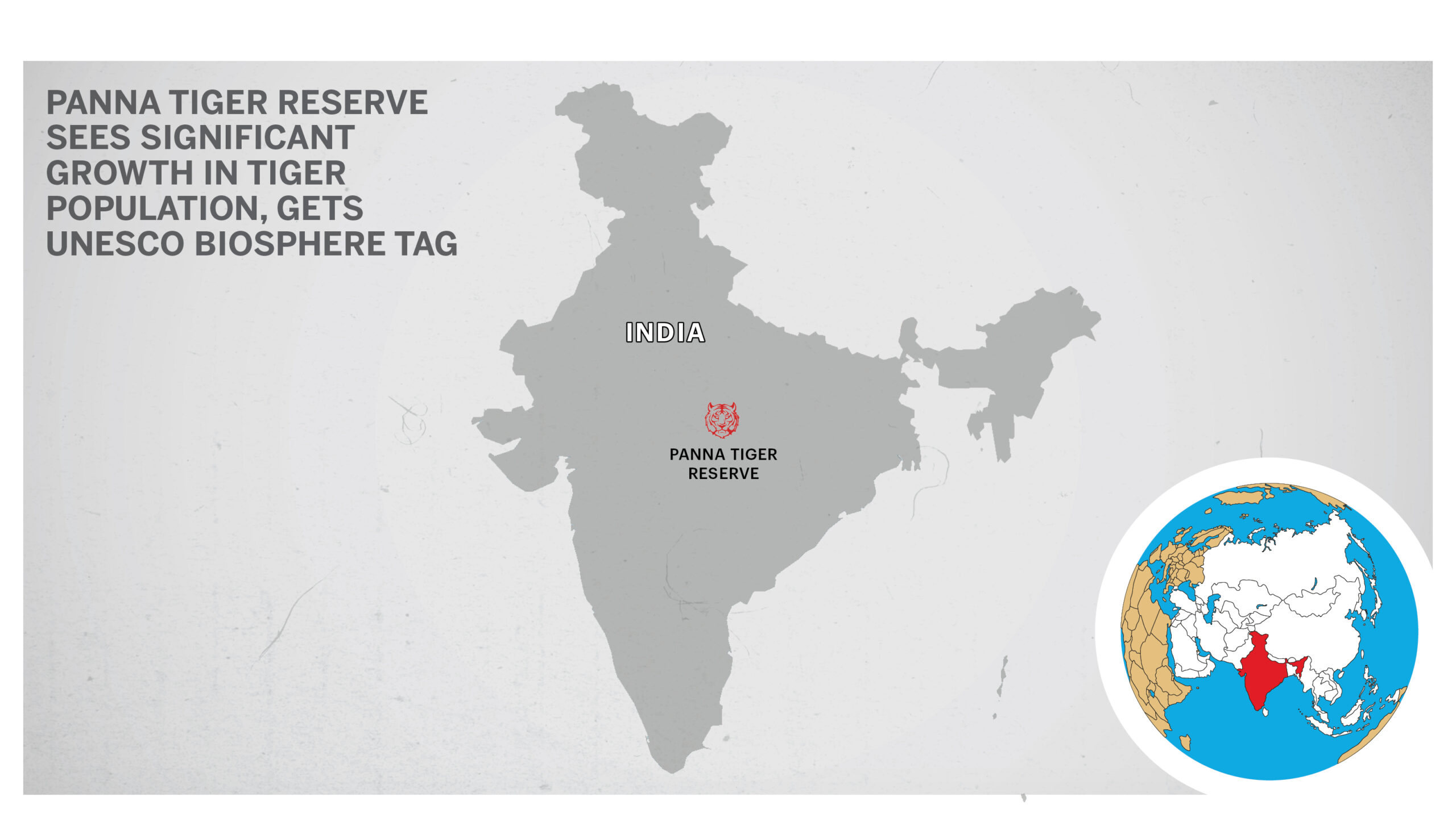 Tiger Reserve Map