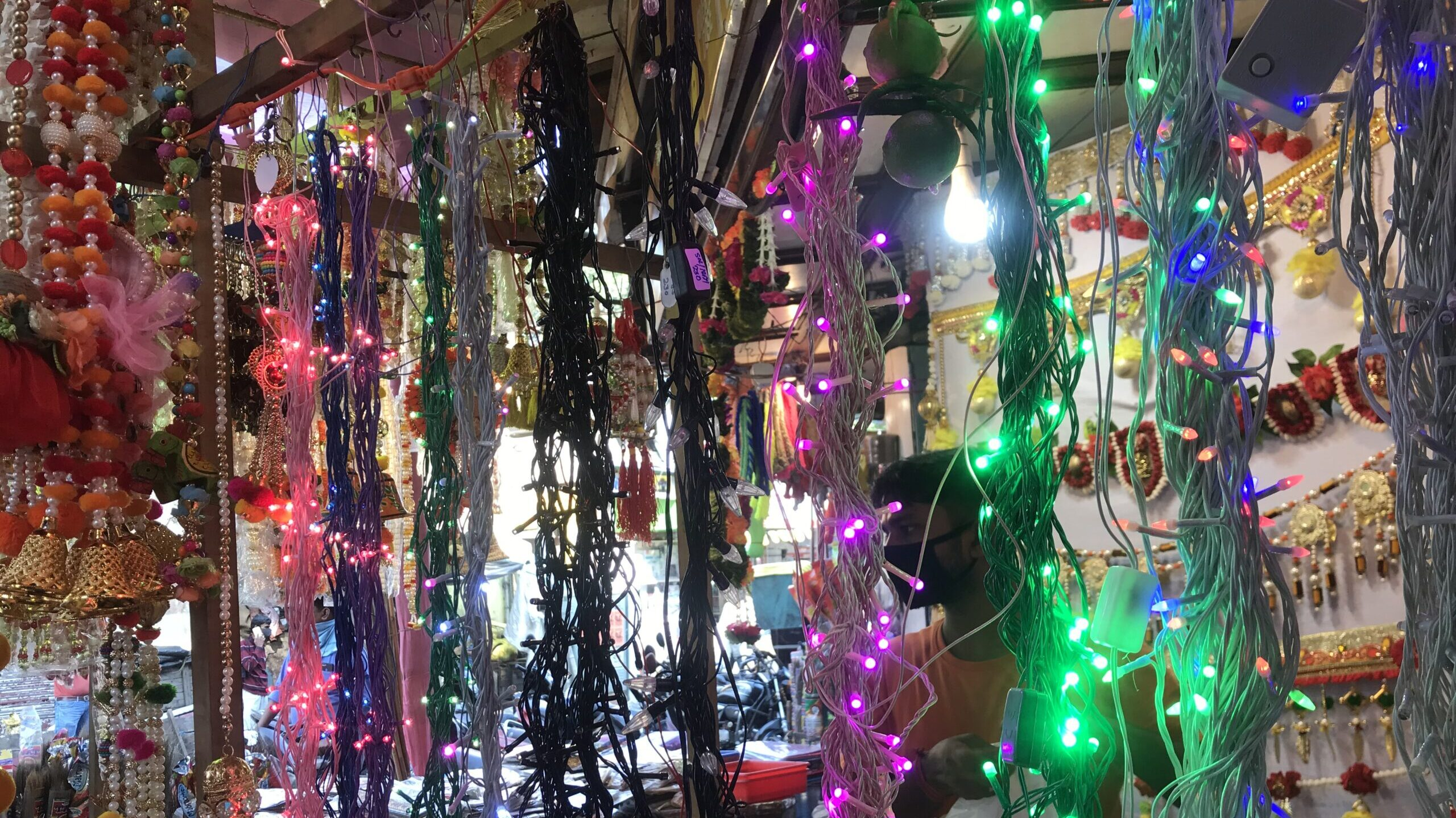 Chinese Lights Brighten Up Diwali—One of India's Biggest Festivals