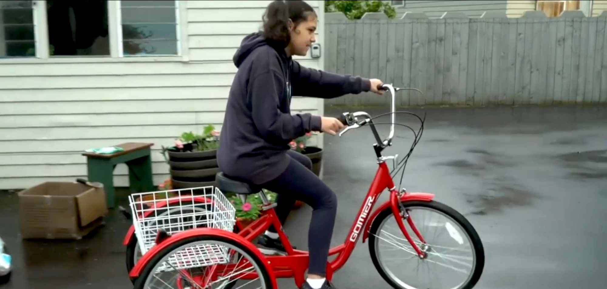 New Zealand Police Return Stolen Bike To Autistic Girl